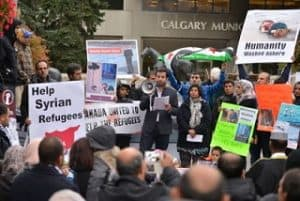 In Canada, the new Liberal government barred single men from its plan to resettle 25,000 Syrians here disqualifying an estimated 70,000 draft dodgers who are predominantly single males.