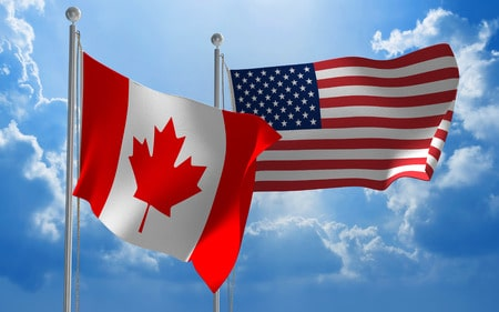 Image result for usa & canada