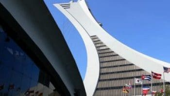 Montreal's Olympic Stadium Used To House Asylum Seekers